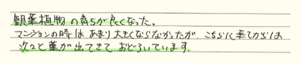 手書きアンケート6
